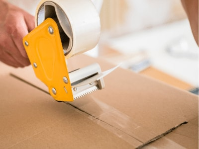 Laminating with Clear Packing tape