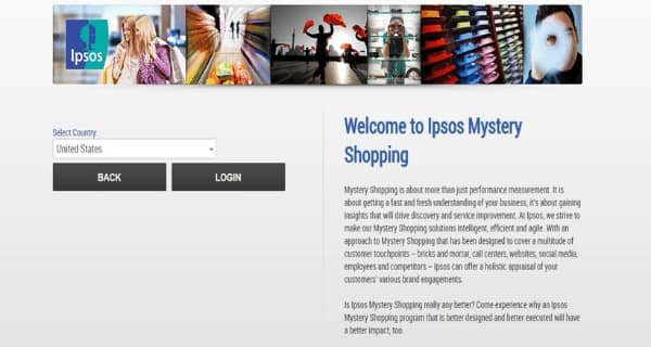IPSOS Sign Up Page