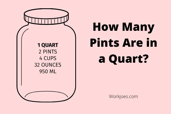 How Many Pints Are in a Quart?